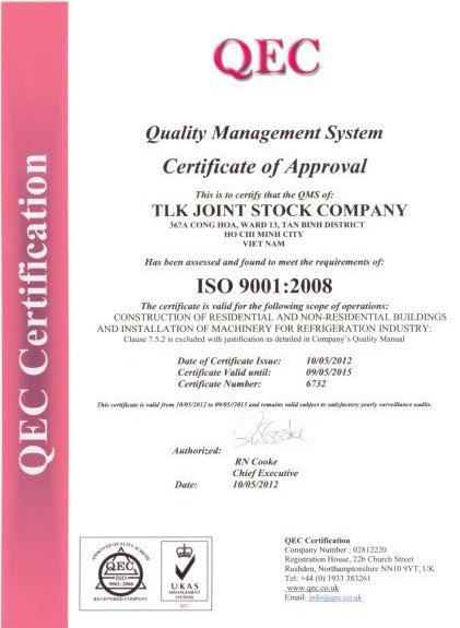TLK ISO 9001:2008